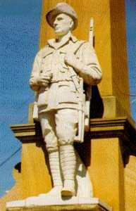 War Memorial,Beaudesert, Queensland