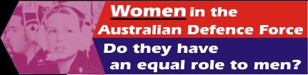 women in australian defence force
