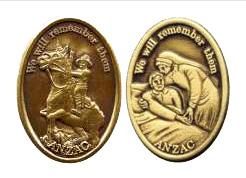 ANZAC badges